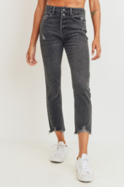 JBD Jenny High Rise Straight Jean - Product Mini Image