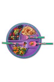 Jenny & Company Garden-Fairy Plate & Utensils - Product Mini Image