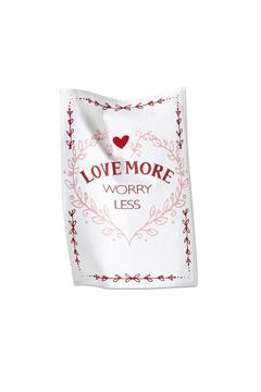 Shoptiques Product: Love More Dishtowel