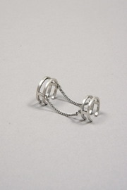 Jenny Bird Double Chain Ring - Product Mini Image