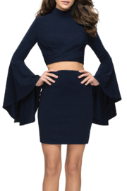 La Femme Jersey 2PC Dress - Product Mini Image