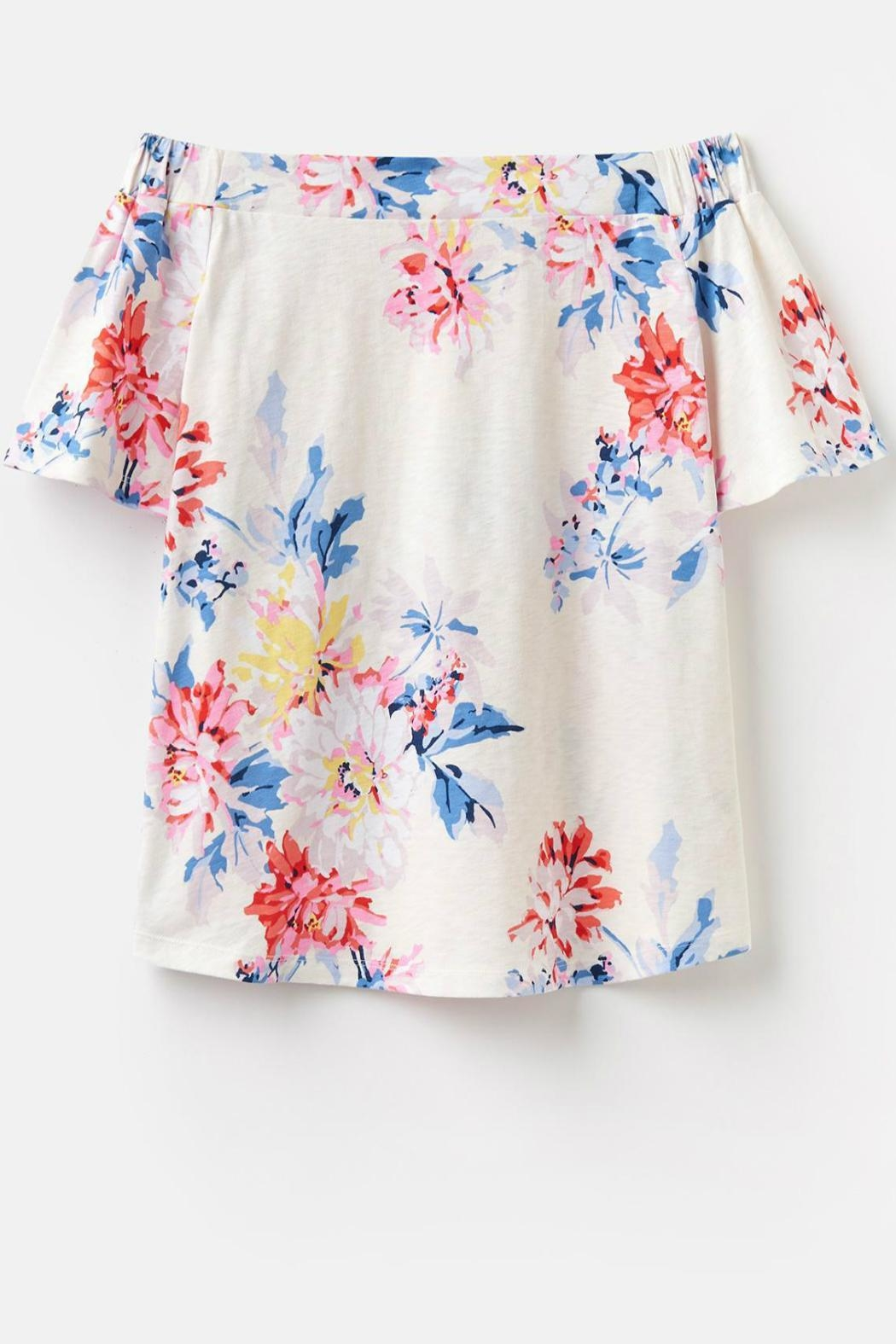c7645816189d1 Joules Jersey Bardot Top from Wisconsin by Tres Belle — Shoptiques