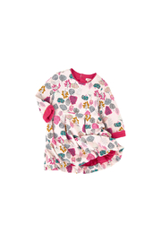 Catimini Jersey Bubble Dress Head in the Clouds - Front full body