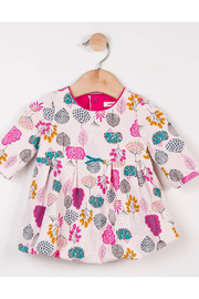 Catimini Jersey Bubble Dress Head in the Clouds - Front cropped