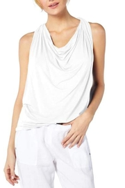 Michael Stars Jersey Draped Top - Product Mini Image