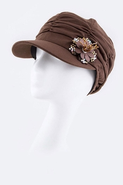 Nadya's Closet Jersey Knit Fashion-Hat - Alternate List Image