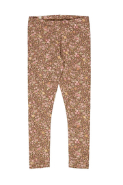 Wheat Jersey Leggings - Cups And Mice - Product Mini Image