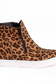 Corky's Shoes Jersey leopard bootie - Product Mini Image