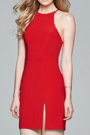 Faviana Jersey Open-Back Dress - Product Mini Image