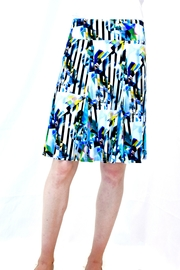 Eva & Claudi Jersey Print Skirt - Product Mini Image