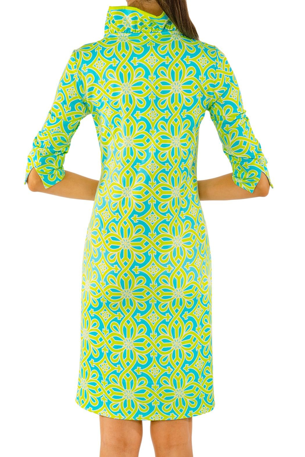 8abc5969bb7 Gretchen Scott Jersey Ruffneck Dress from New Jersey by Le Papillon ...