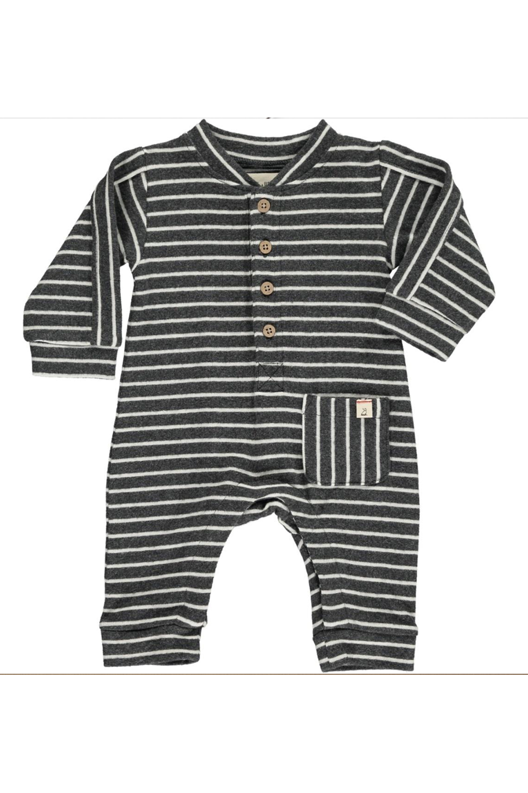 Me & Henry Jersey Striped Romper - Main Image