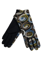 Adrienne Jersey Swirl Gloves - Product Mini Image