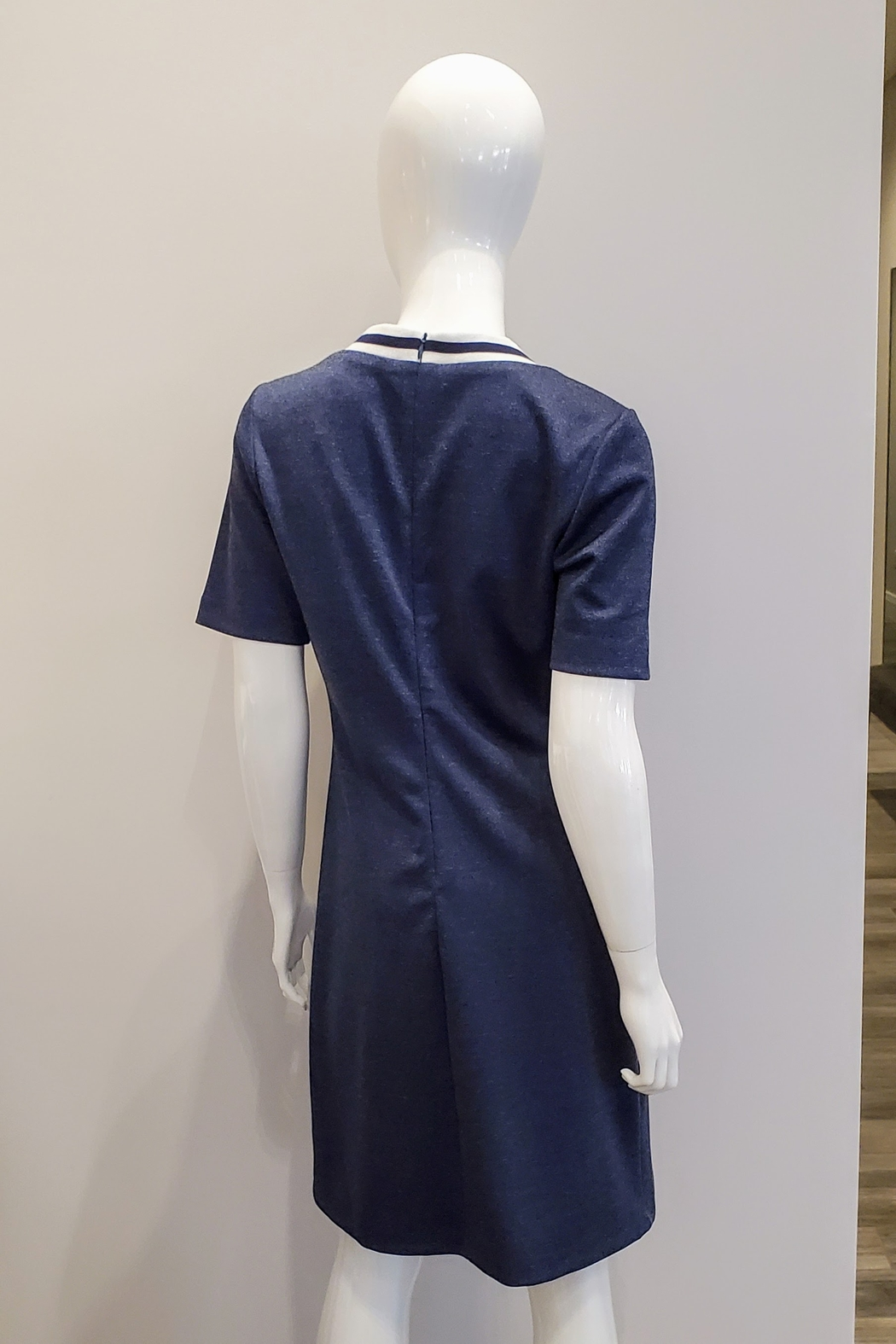Katherine Barclay Jersey Tee Dress - Front Full Image