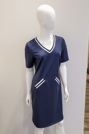 Katherine Barclay Jersey Tee Dress - Front cropped