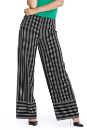 Cartise Pinstripe Wide Trousers - Product Mini Image