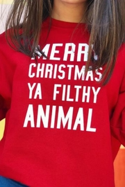 Jerzees Filthy Animal Sweatshirt - Front full body