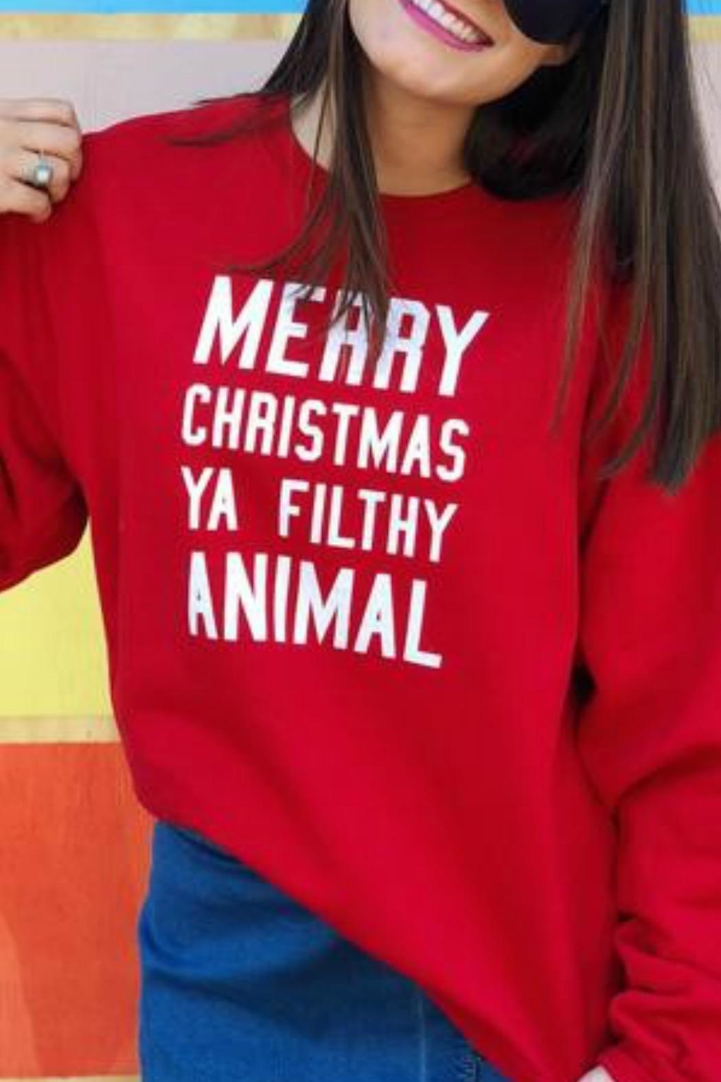 Jerzees Filthy Animal Sweatshirt - Main Image