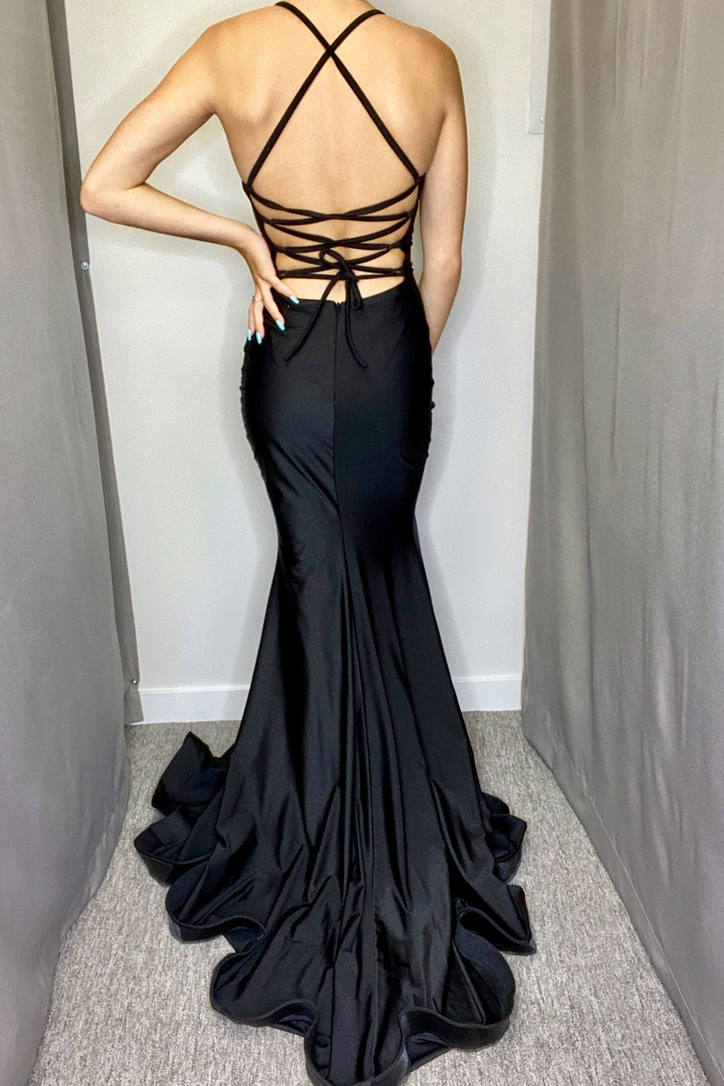 Jessica Angel Evening Gown 366 - Front Full Image