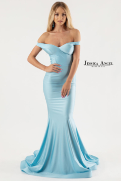 Jessica Angel Collection Jessica Angel Evening Gown 583 - Product List Image