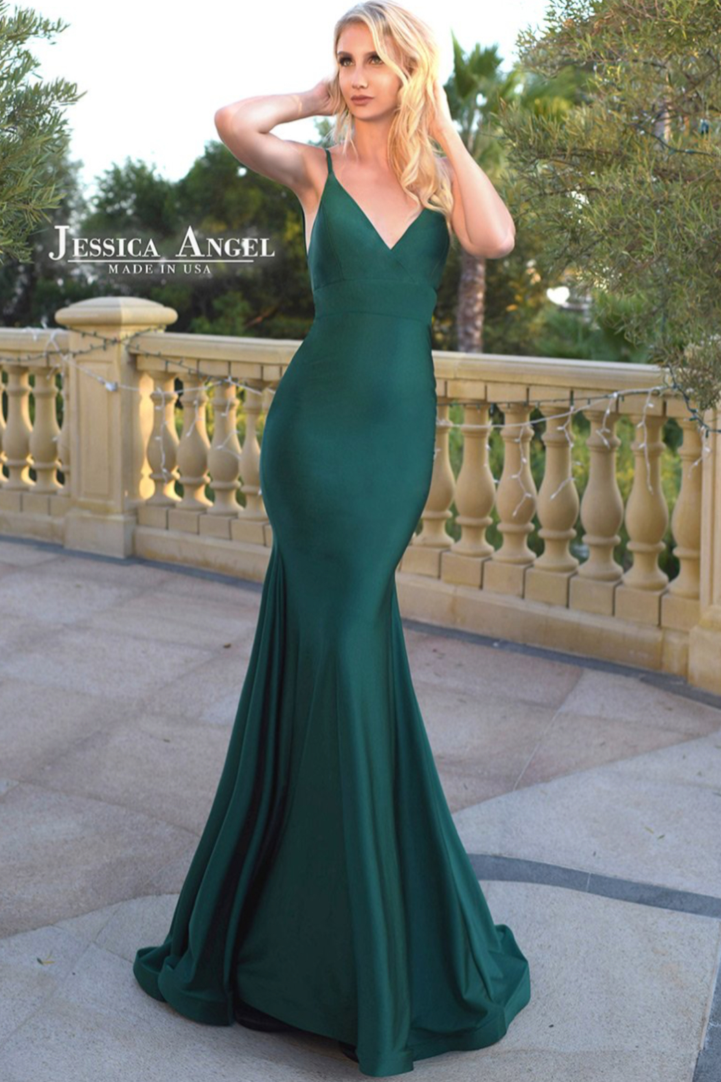 Jessica Angel Gown 347 - Front Cropped Image