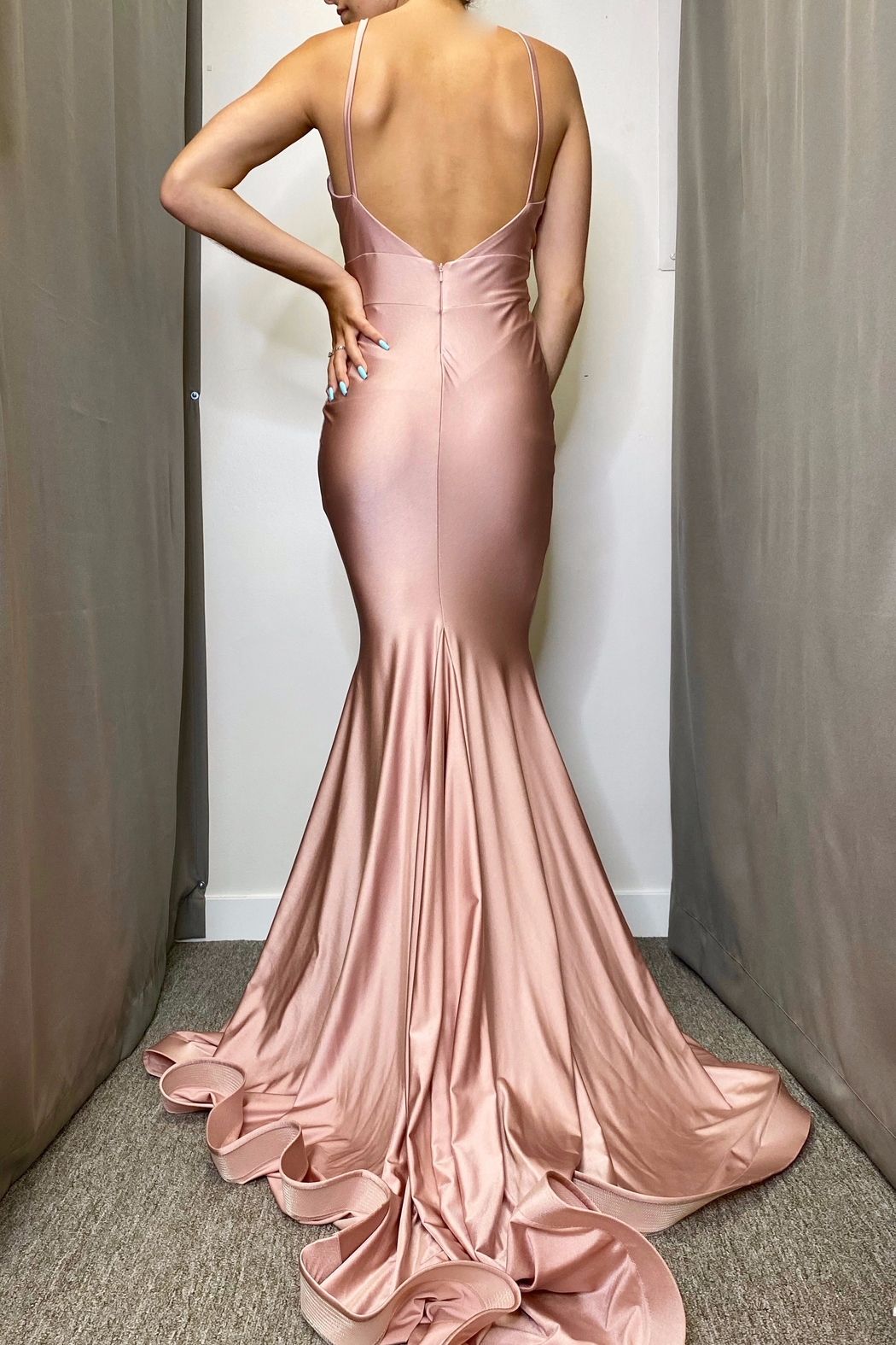 Jessica Angel Gown 347 - Front Full Image