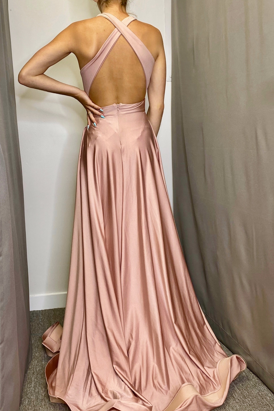 Jessica Angel Gown 385 - Side Cropped Image
