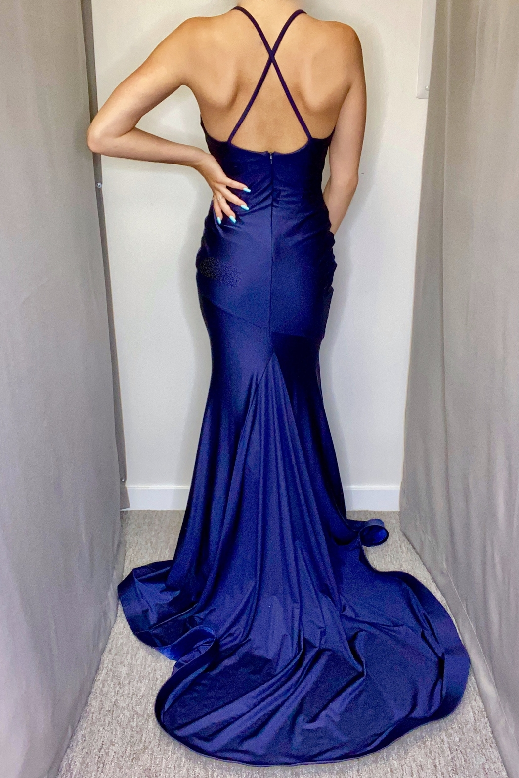 Jessica Angel Gown 561 - Front Full Image