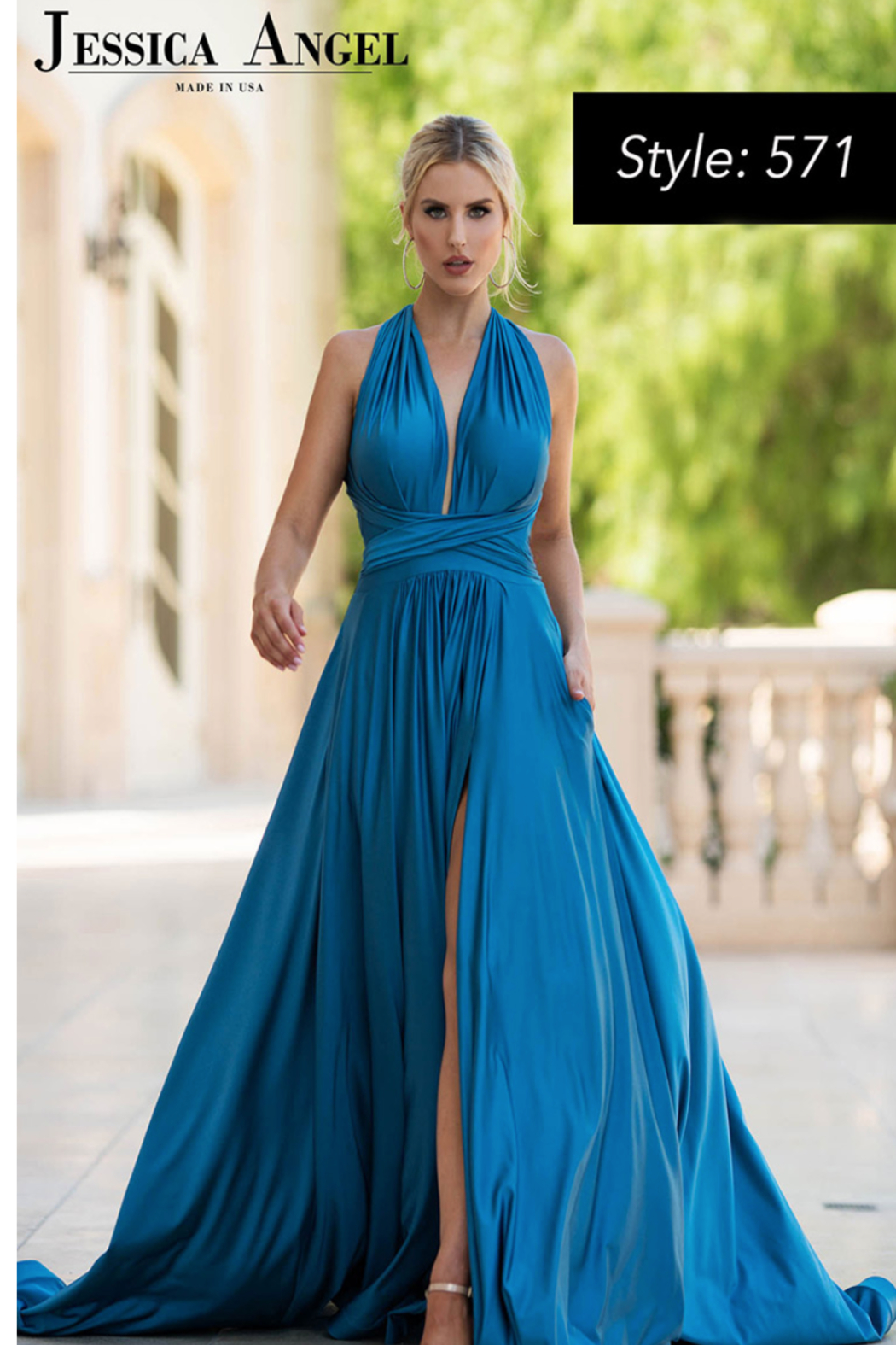 Jessica Angel Gown 571 - Main Image