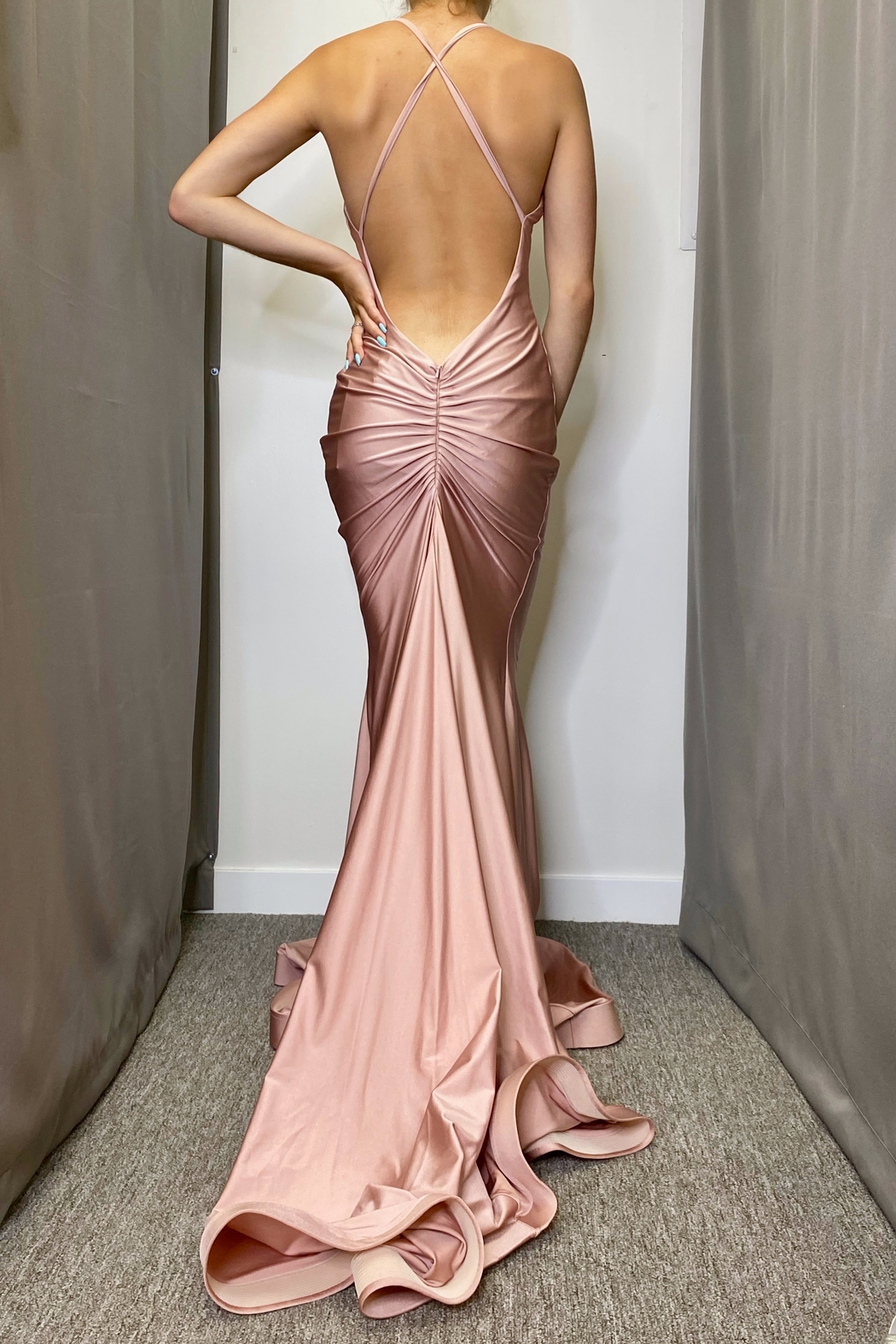 Jessica Angel Gown 636 - Front Full Image
