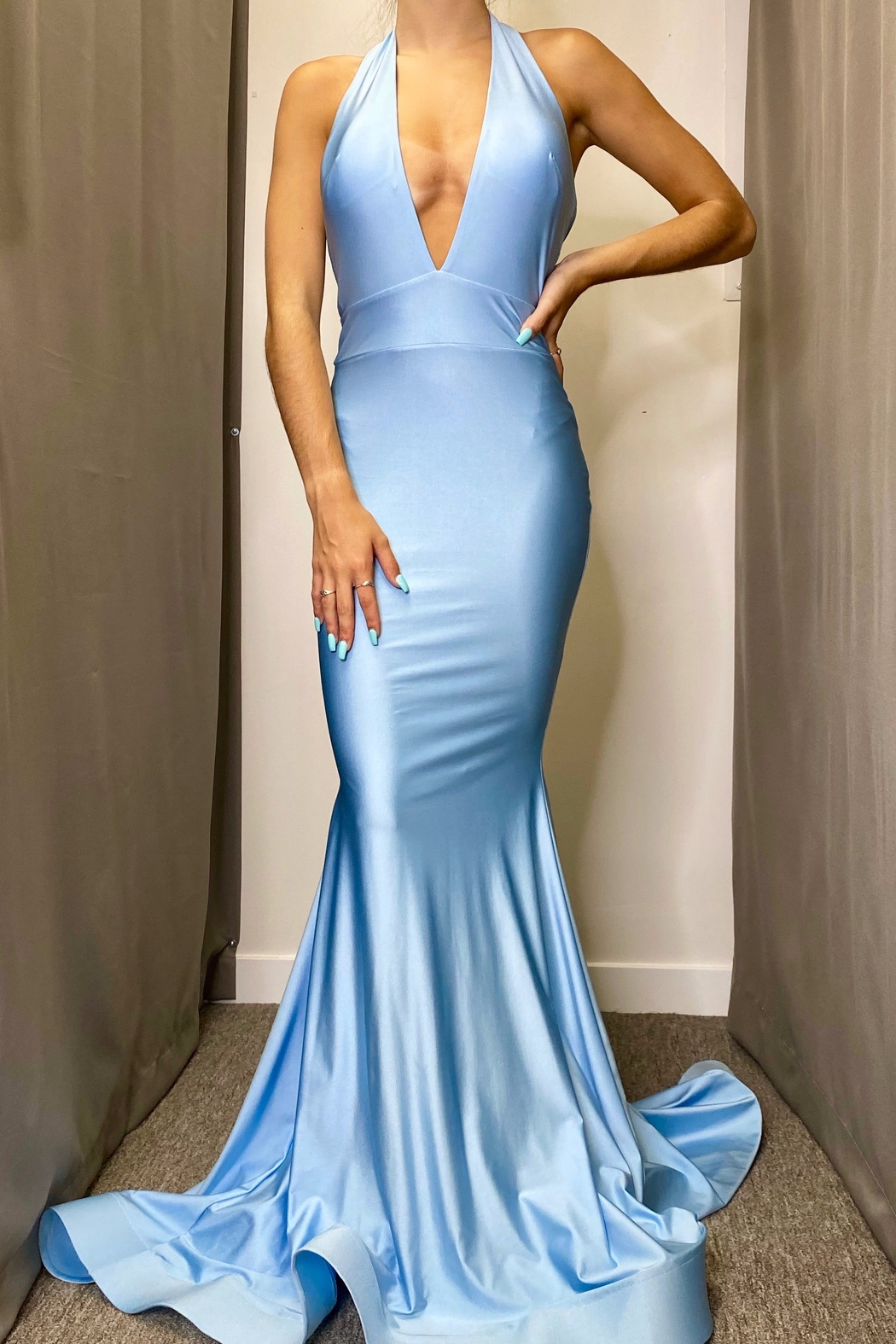 Jessica Angel Gown 728 - Front Cropped Image