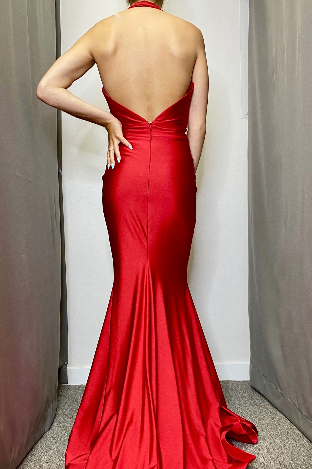 Jessica Angel Gown 728 - Front Full Image