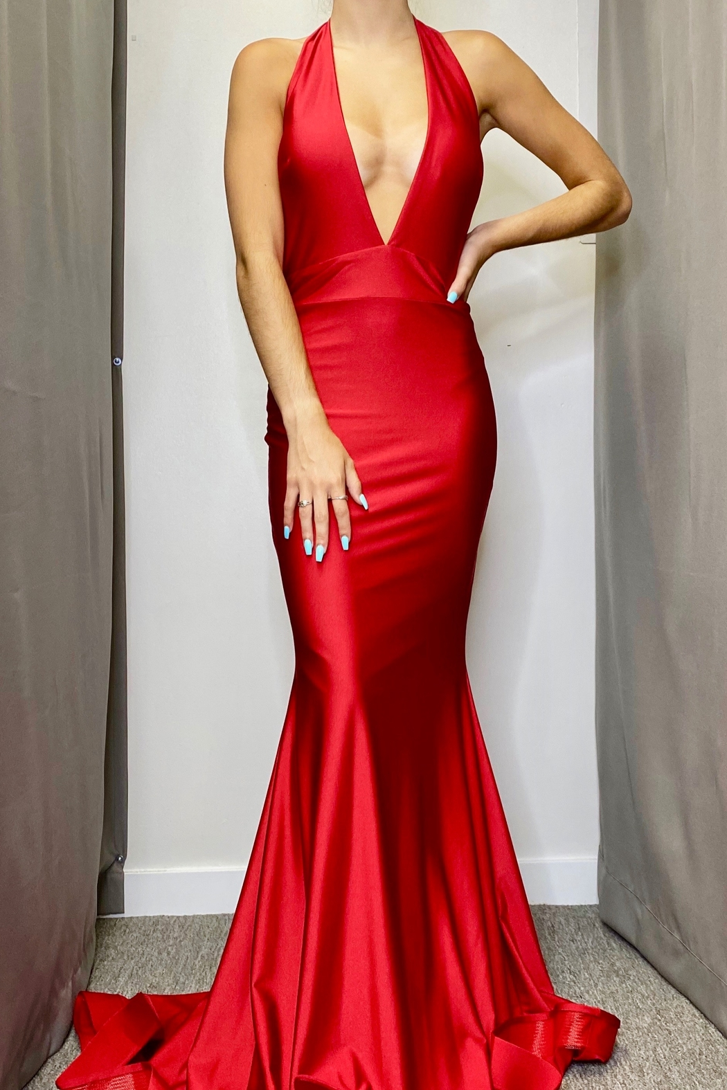 Jessica Angel Gown 728 - Main Image