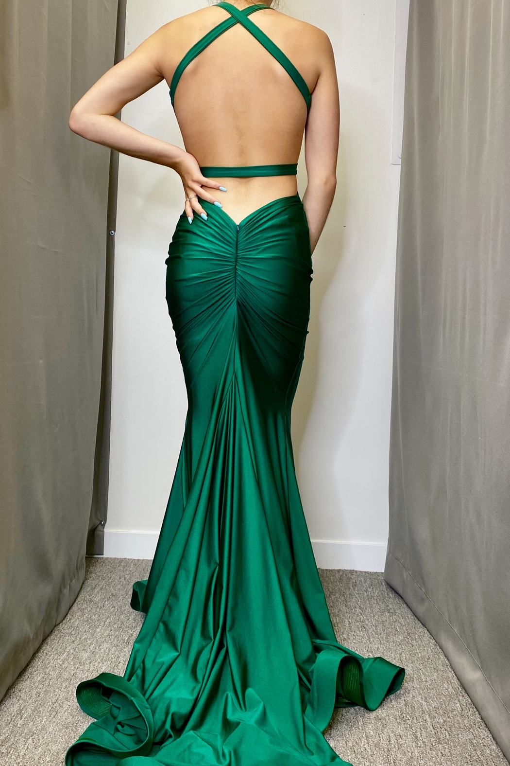 Jessica Angel Gown 737 - Front Full Image