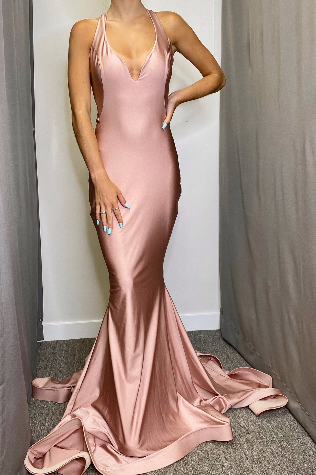 Jessica Angel Gown 737 - Front Cropped Image