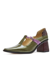 Jessica Kessel Caterina Green Pumps - Front full body