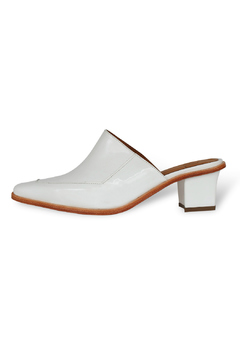 Shoptiques Product: Slip On Block Heel