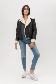 Fashion District LA Jessies Girl Jacket - Back cropped