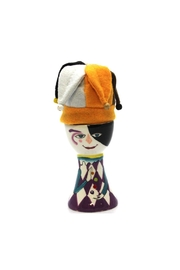 Mardi Gras Collection Jester Egg Holder - Front cropped