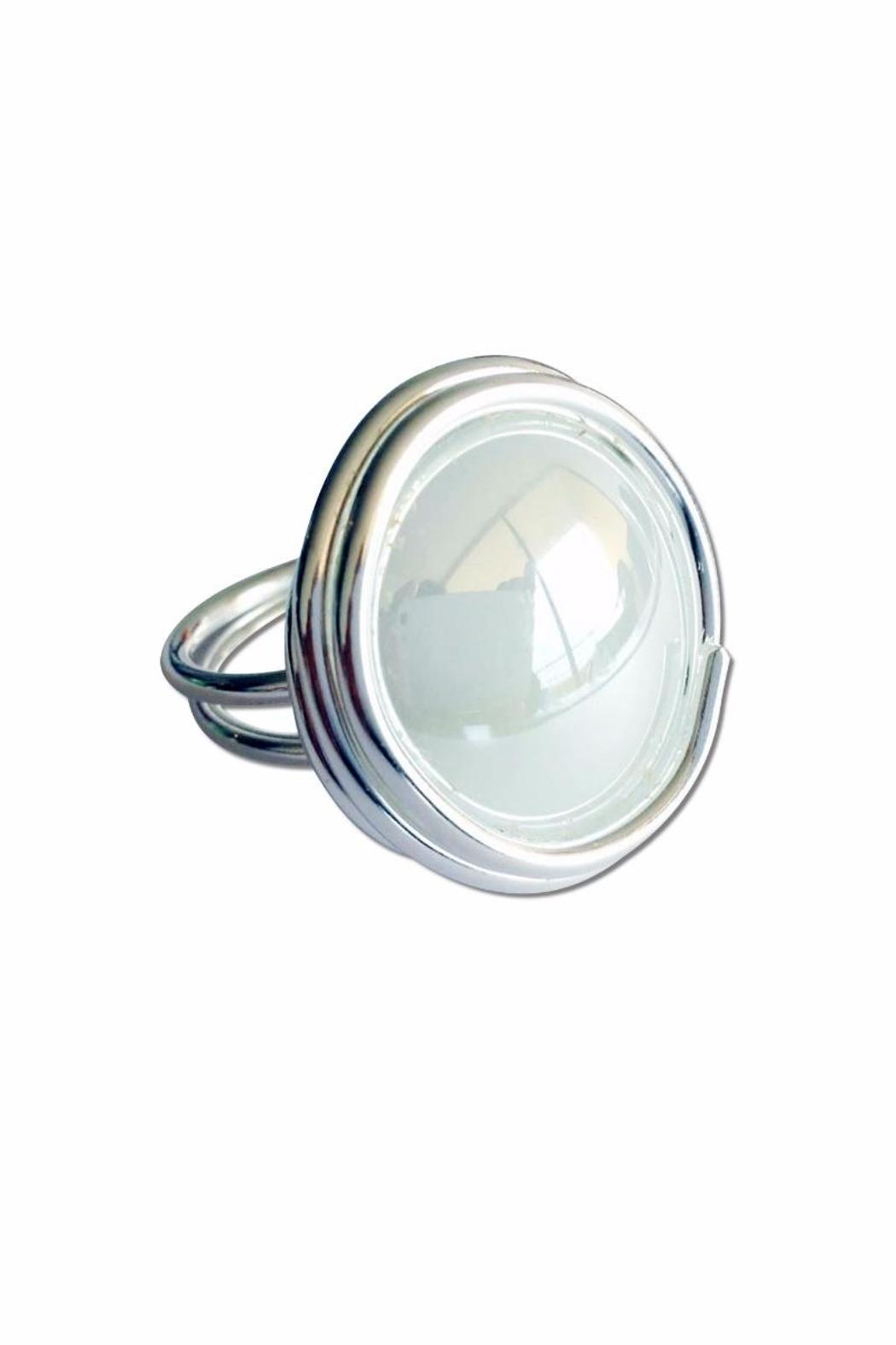 Jesus Quaas Infinity Glass Ring - Front Cropped Image