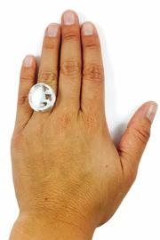 Jesus Quaas Infinity Glass Ring - Side cropped