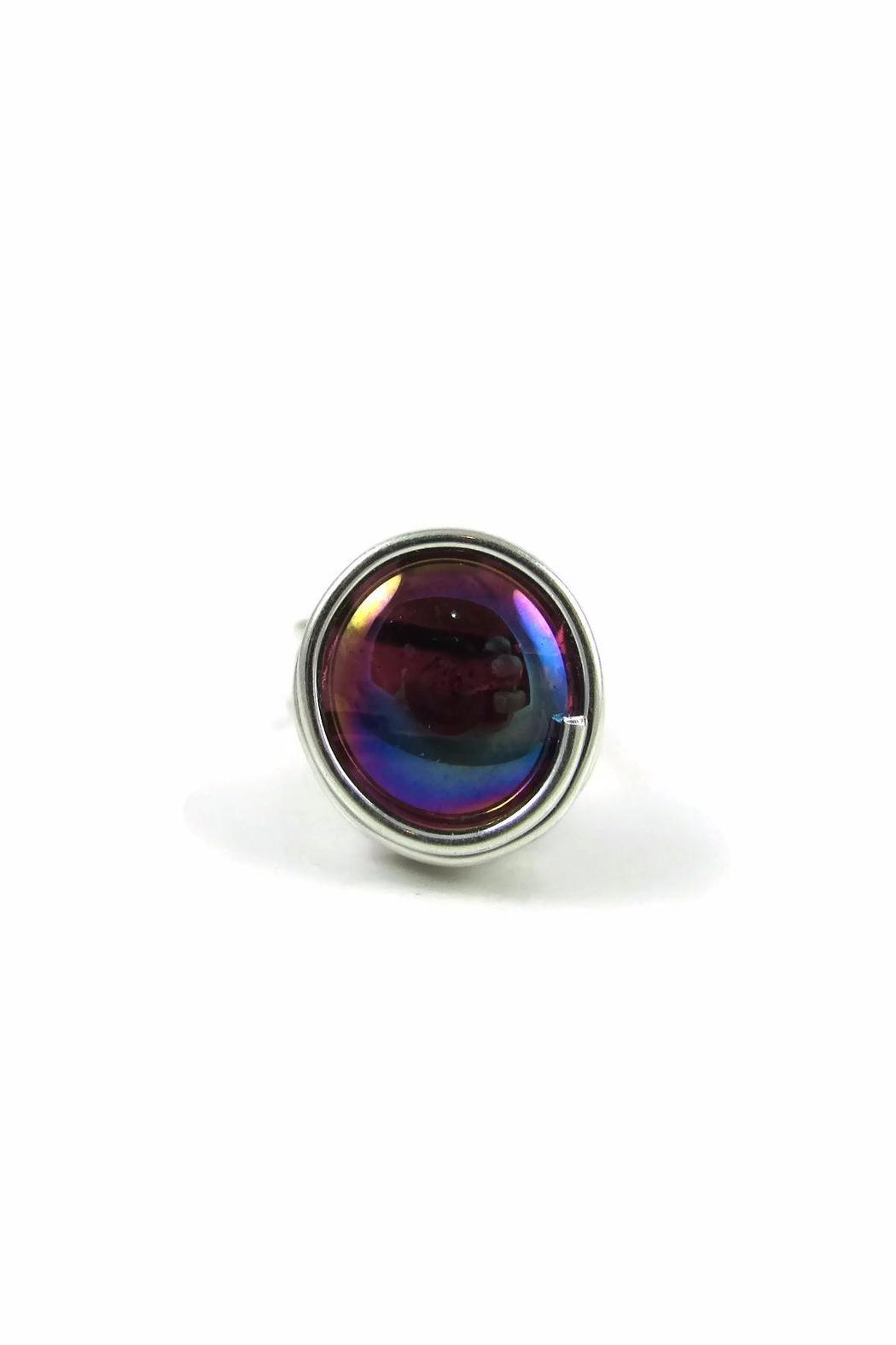 Jesus Quaas Infinity Glass Ring - Main Image