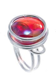 Jesus Quaas Infinity Glass Ring - Front cropped