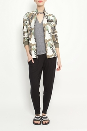 JET John Eshaya Camo Studded Jacket - Product Mini Image