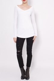 JET John Eshaya Portrait Bell Sleeve Top - Product Mini Image