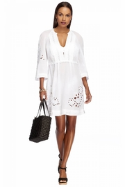 Jets by Jessika Allen J Amour White Tunic - Front full body