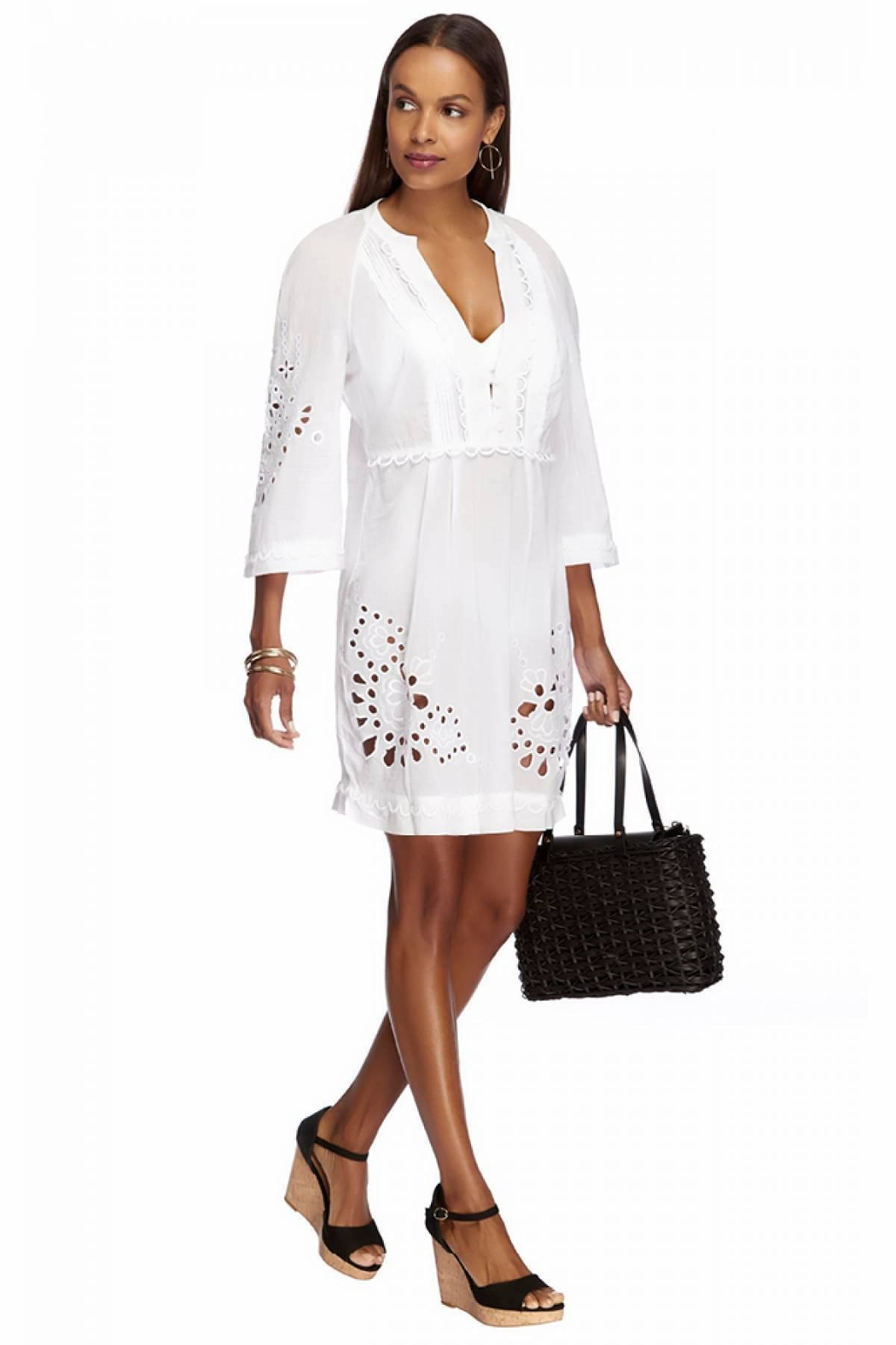 Jets by Jessika Allen J Amour White Tunic - Side Cropped Image