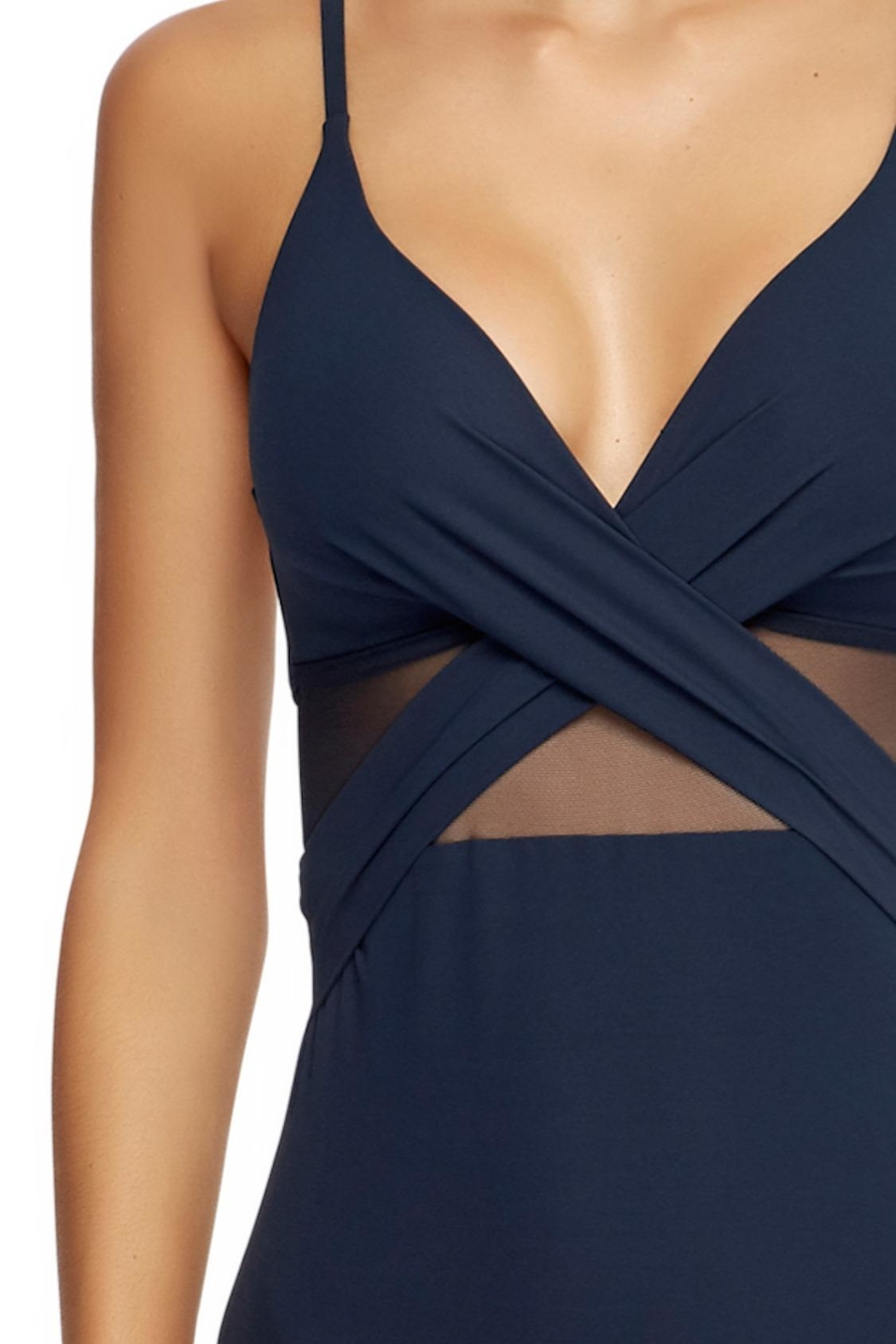 Jets by Jessika Allen Contour Crossover One-Piece - Front Full Image