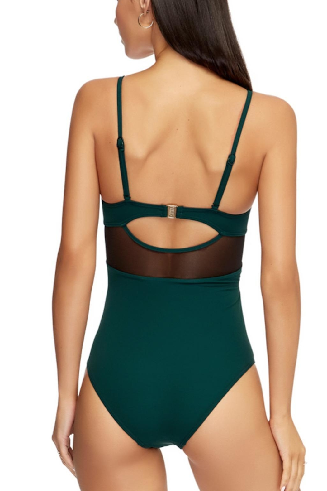 Jets by Jessika Allen Contour Crossover One-Piece - Side Cropped Image