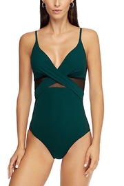 Jets by Jessika Allen J Contour Crossover One-Piece - Product Mini Image
